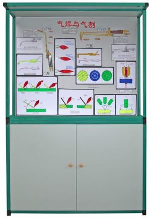 焊工、铆工工艺学示教陈列柜