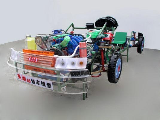 汽车整车教学模型