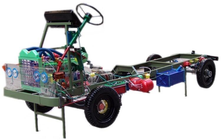 军用1122汽车透明教学模型