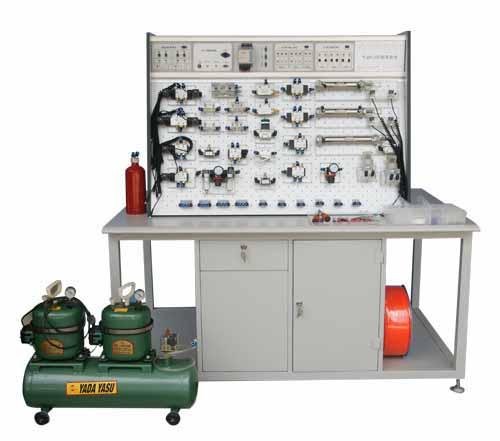 插孔式铁桌气动PLC控制实验台