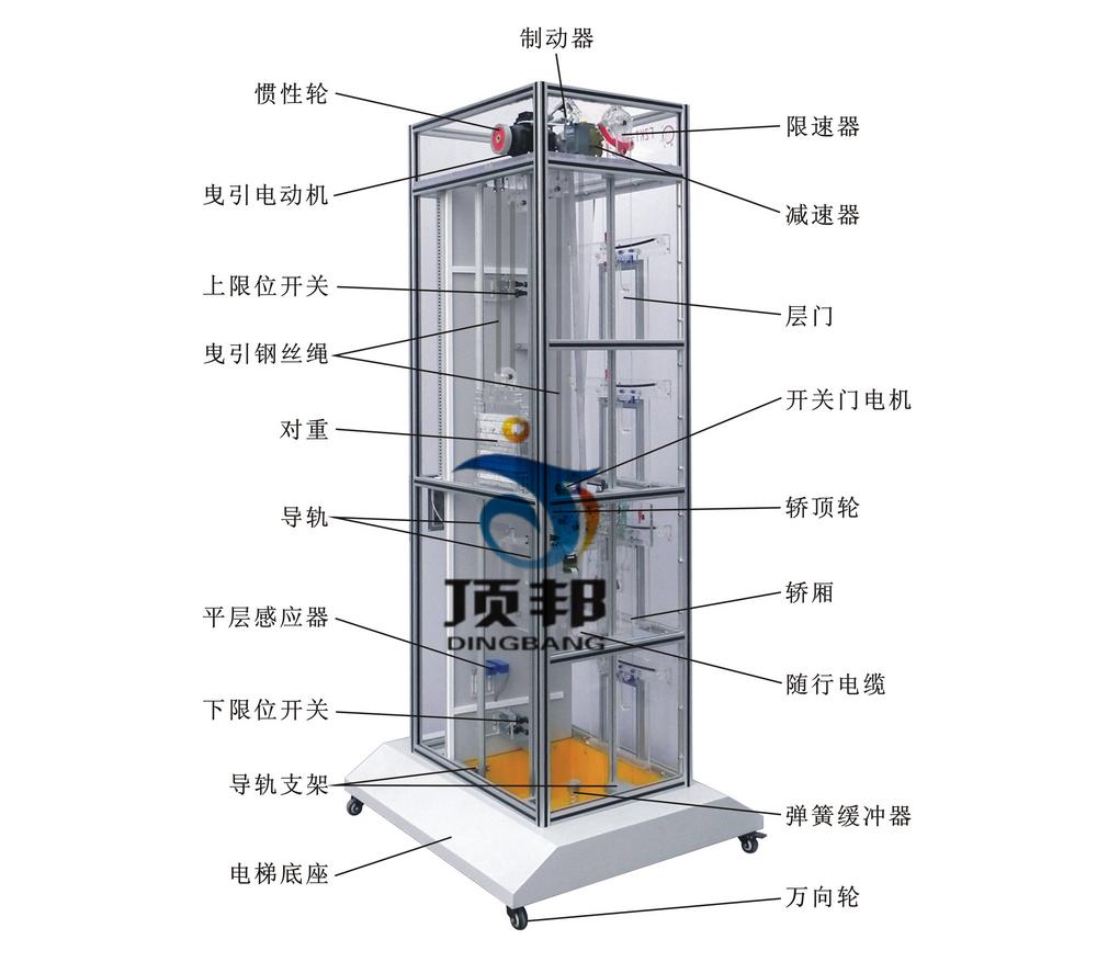 教学电梯模型
