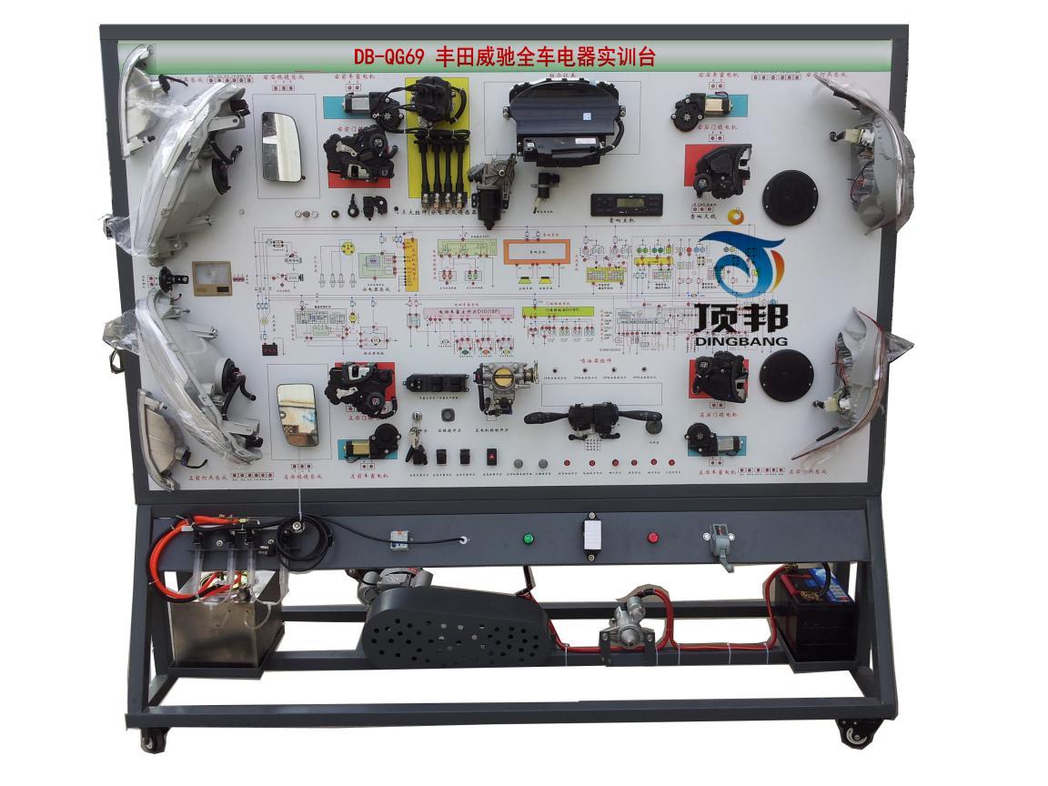 基础,充分展示汽车发动机防盗系统、仪表系统、灯光系统、雨刮系高清图片