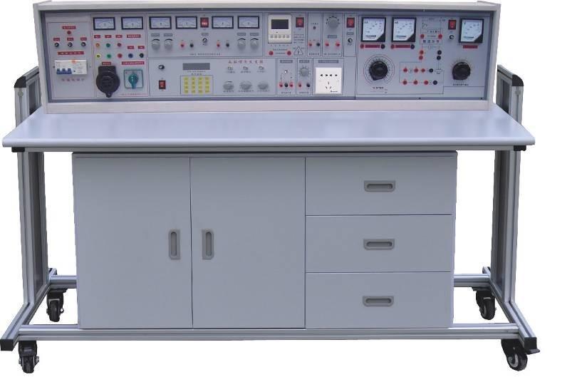 通用电工、电子、电力拖动(带直流电机)四合一实验室成套设备