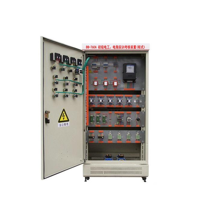 初级电工.电拖实训考核装置(柜式)
