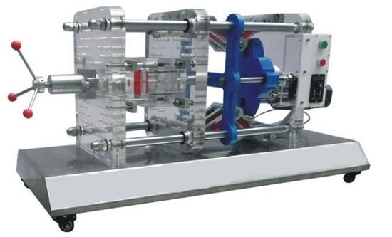 透明注塑成型模拟机
