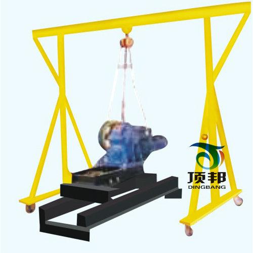 电梯曳引机安装与拆装调试实训设备