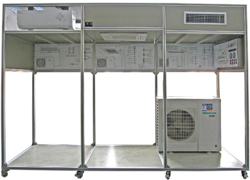 家用中央空调实训考核装置