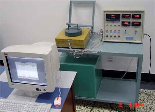 稳态平板法测定绝热材料导热系数实验台