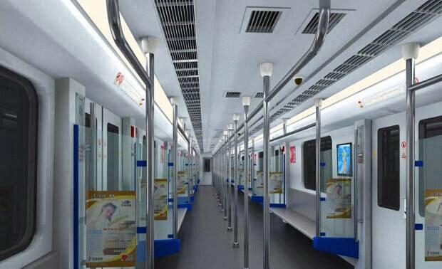 地铁车辆与结构虚拟仿真教学软件系统