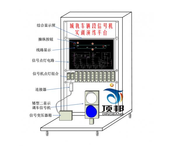 车辆段信号机设备实训演练平台
