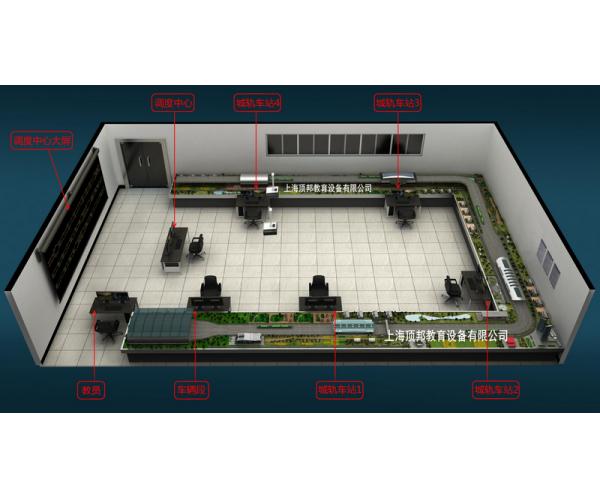 城市轨道交通运营沙盘实训系统