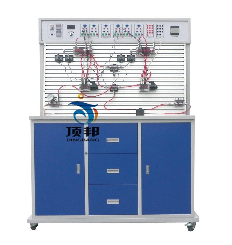 PLC控制透明液压传动演示系统