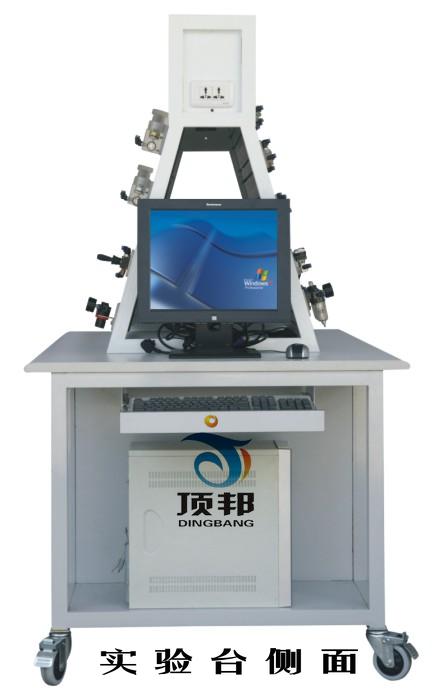 液压PLC控制实验台侧面