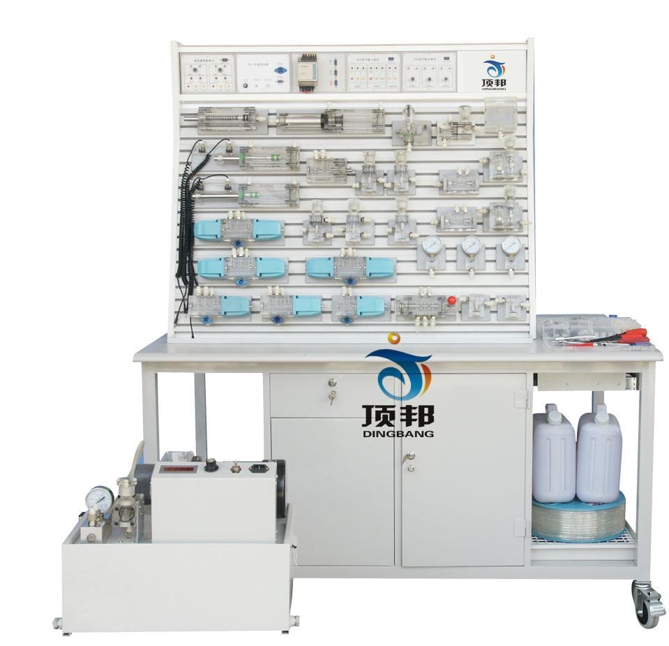 铝槽式铁桌液压气动PLC控制实验台