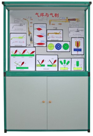 焊、铆工工艺学示教陈列柜