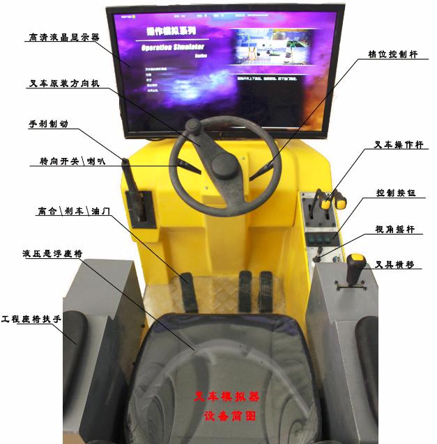 装载机、叉车模拟机模拟器
