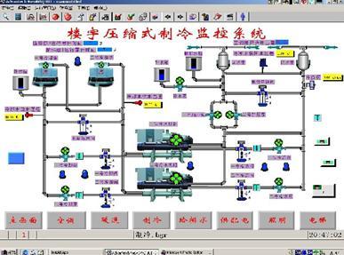 楼宇冷冻监控系统实验实训装置软件
