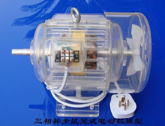 三相异步鼠笼式电动机模型