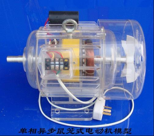 单相异步鼠笼式发电机模型