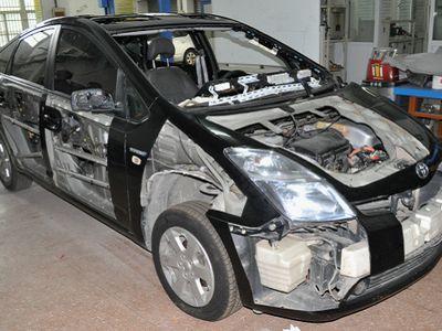 普锐斯混合动力汽车整车解剖模型
