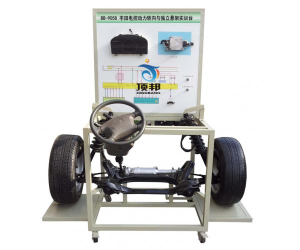 丰田电控动力转向与独立悬架实训台